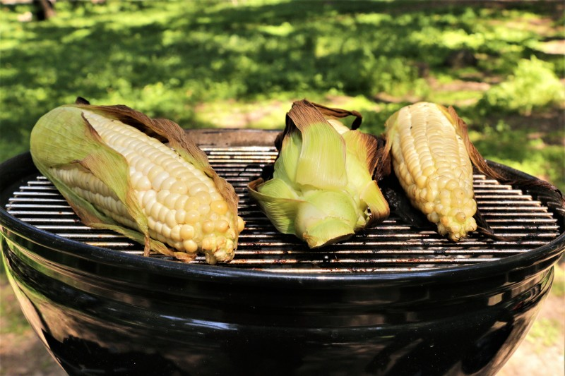 Charcoal Roasted Summer Corn
